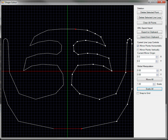 Shape Editor Screenshot 1