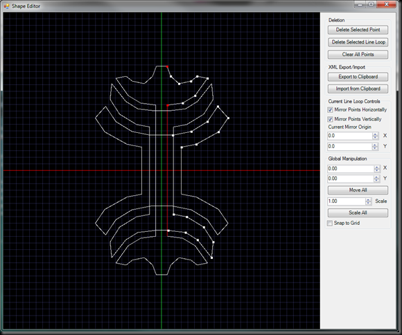 Shape Editor Screenshot 2